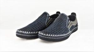 Odiniai vyriški batai su skylutėmis MARIO PALA
